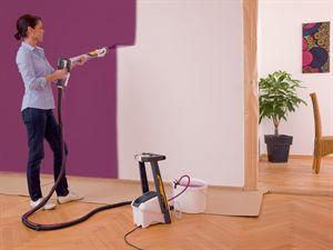 Bien choisir votre pistolet peinture guide astuces - Comment peindre une chambre en 2 couleurs ...